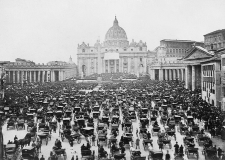 the Vatican in 1860